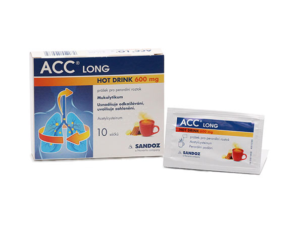 ACC Long Hot Drink 600 mg